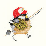 Click for more details of Fisherman Chick (cross-stitch kit) by Valerie Pfeiffer