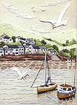 Click for more details of Fishing Village (embroidery kit) by Sue Dakin
