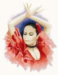 Click for more details of Flamenco Dancer (cross-stitch pattern) by John Clayton