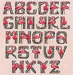 Click for more details of Flamingobet - An Alphabet Sampler (cross-stitch) by Jeanette Crews