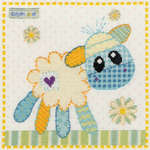 Click for more details of Flock the Lamb (cross-stitch) by Bothy Threads