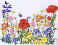Click for more details of Flower Meadow (cross-stitch kit) by Anchor