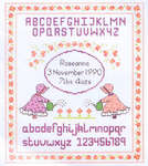 Birth & Baby Sampler Cross Stitch Patterns