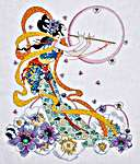 Click for more details of Flute Player (cross-stitch kit) by Design Works