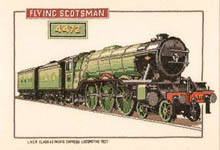 Click for more details of Flying Scotsman (cross-stitch pattern) by Dave Shaw