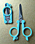 Click for more details of Folding Scissors (scissors) by Siesta Frames