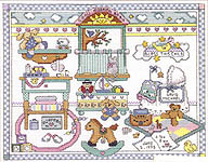Click for more details of For Baby (cross-stitch pattern) by Graph-it Arts