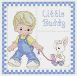 Click for more details of For Little Boys and Girls (cross-stitch pattern) by Gloria & Pat