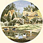 Click for more details of Ford Way (cross stitch) by John Clayton