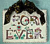 Click for more details of Forever (cross stitch) by The Cross-Eyed Cricket