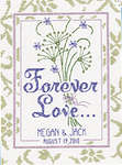 Click for more details of Forever Love (cross-stitch kit) by Janlynn