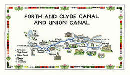 Click for more details of Forth and Clyde Union Canal (cross-stitch pattern) by Sue Ryder