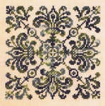 Click for more details of Four de Lys (cross-stitch) by Ink Circles