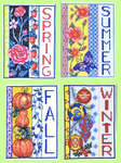 Click for more details of Four Seasons Samplers (cross-stitch pattern) by Bobbie G. Designs