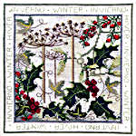 Click for more details of Four Seasons - Winter (cross-stitch kit) by Rose Swalwell
