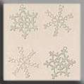 Click for more details of Four Snowflake Treasures (beads and sequins) by Mill Hill