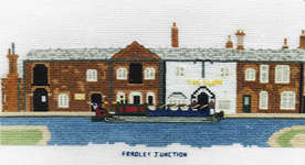 Click for more details of Fradley Junction, Lichfield (cross-stitch kit) by Abacus Designs