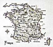 Click for more details of France (cross-stitch pattern) by Sue Ryder