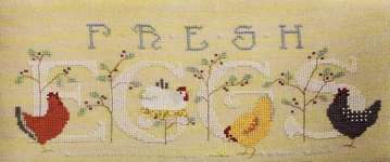Click for more details of Free Range (cross stitch) by The Cross-Eyed Cricket