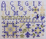 Click for more details of French Country Sampler (cross stitch) by Rosewood Manor