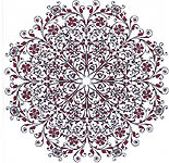 Click for more details of French Filigree (cross-stitch pattern) by Heaven and Earth Designs