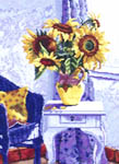 Click for more details of French Sunflowers (cross-stitch pattern) by Affinity Arts