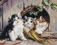Click for more details of Friendly Shelter (cross-stitch kit) by Luca - S