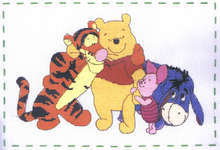 Click for more details of Friends Forever (cross-stitch kit) by Disney by Anchor