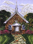 Click for more details of Friendship Baptist Church (cross-stitch pattern) by Pegasus