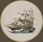 Click for more details of Frigate - Eyes of the Fleet (cross-stitch pattern) by Dave Shaw