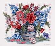 Click for more details of From my Garden (cross-stitch) by Eva Rosenstand