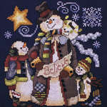 Click for more details of Frosty Friends Believe (cross-stitch) by Stoney Creek