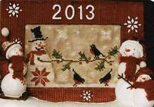 Click for more details of Frosty Night (cross stitch) by New York Dreamer