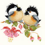 Click for more details of Fuchsia Chick-Chat (cross stitch) by Valerie Pfeiffer