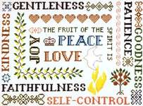 Click for more details of Galations 5:22 & 23 (cross-stitch pattern) by Imaginating