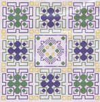 Click for more details of Garden Maze (cross-stitch pattern) by Flowers 2 Flowers