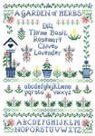 Click for more details of Garden of Herbs (cross stitch) by Imaginating