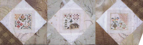 Click for more details of Garden Secrets Autumn Set (cross-stitch pattern) by Jeannette Douglas