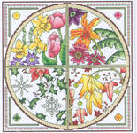 Click for more details of Garden Year (cross stitch) by Mike Vickery