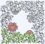 Click for more details of Garden Zenembroidery (embroidery) by Design Works