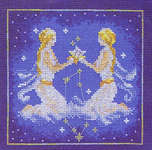 Click for more details of Gemini (cross-stitch kit) by Lanarte