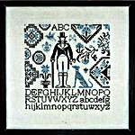 Click for more details of Gentleman Quaker (cross stitch) by Jardin Prive