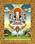 Click for more details of Giclee Art Print, titled:  Chenrezig (Avalokiteshvara) (limited edition print) by Heinz Hoes