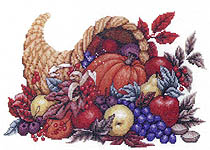 Click for more details of Giving Thanks (cross-stitch pattern) by Bobbie G. Designs