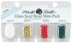 Click for more details of Glass Seed Beads Mini Pack (beads and treasures) by Mill Hill