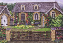 Click for more details of Glenariff Cottage (cross-stitch pattern) by Pegasus