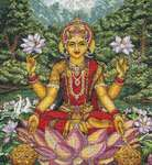 Click for more details of Goddess Lakshmi (cross stitch) by maia