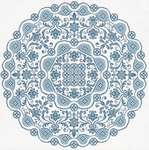 Click for more details of Gossamer Lace in Cross Stitch (cross stitch) by Works by ABC