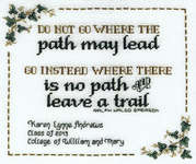Click for more details of Graduate Journey (cross-stitch pattern) by Sue Hillis Designs