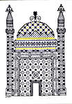 Click for more details of Granada (blackwork) by Classic Embroidery